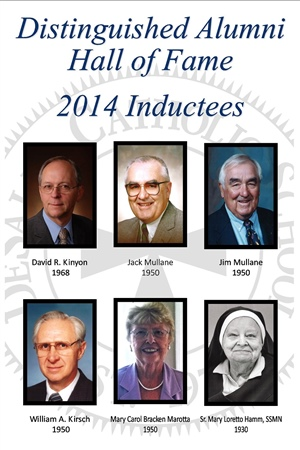 Distinguished Alumni Hall of Fame 2014 Inductees