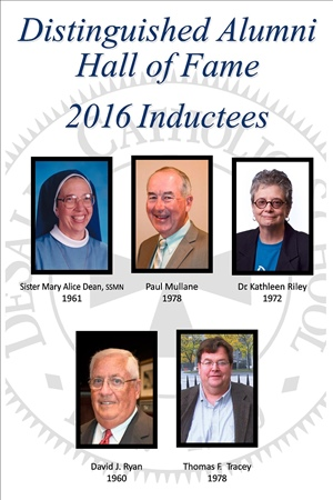 Distinguished Alumni Hall of Fame 2016 Inductees