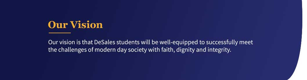 DeSales Catholic School Vision