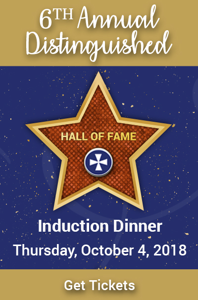 6th Annual Distinguished Hall of Fame Induction